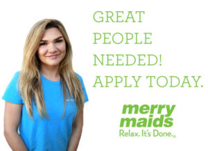 Great People Needed at Merry Maids of Victoria
